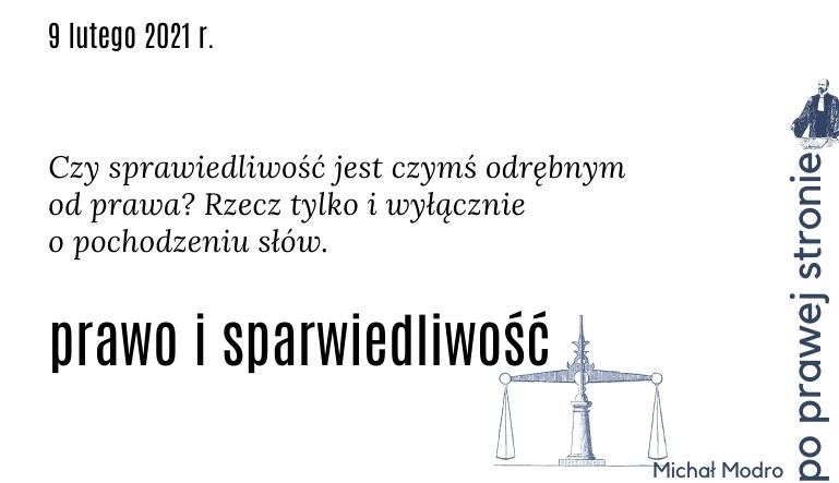 Prawo i sparwiedliwość